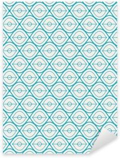 Nálepka Pixerstick Bezešvé geometrický vzor.