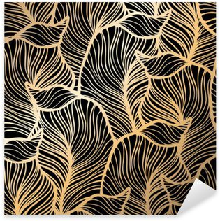 Nálepka Pixerstick Bezešvé květinovým vzorem. Royal tapeta
