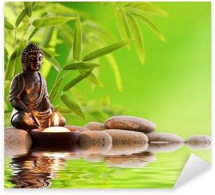 Nálepka Buddha Zen