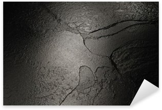 Nálepka Černý kámen textury pozadí.