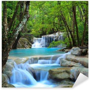 Nálepka Pixerstick Erawan Waterfall, Kanchanaburi, Thajsko