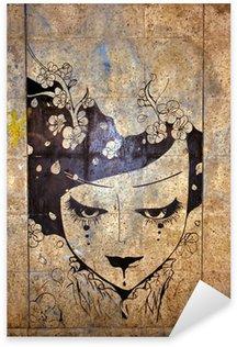 Nálepka Graffiti - street art