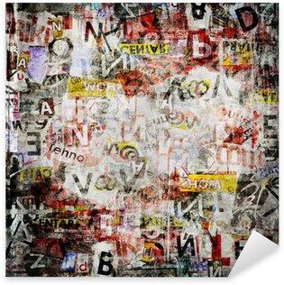 Nálepka Grunge texturované pozadí