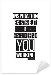 Nálepka Inspirace existuje, ale musí najít si práci. Pablo Picass