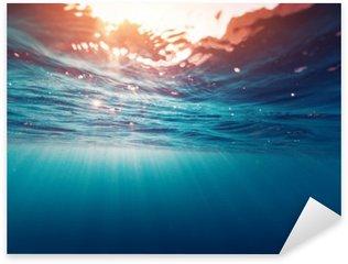 Nálepka Pixerstick Modré moře