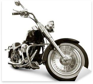 Nálepka Pixerstick Motocykl