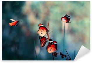 Nálepka Pixerstick Motýl