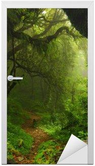 Nálepka na Dveře Forest Nepál