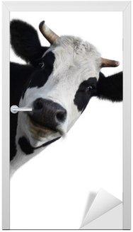 Nálepka na Dveře Kráva