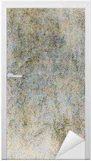 Nálepka na Dveře Retro pozadí s texturou starého papíru