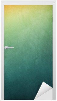 Nálepka na Dveře Texturou gradientní pozadí