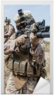Nálepka na Dveře Vojenská operace