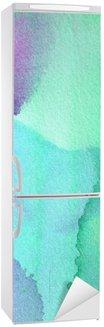 Nálepka na Ledničku Abstraktní akvarel pozadí design