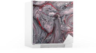 Nálepka na Ledničku Abstraktní barva pozadí