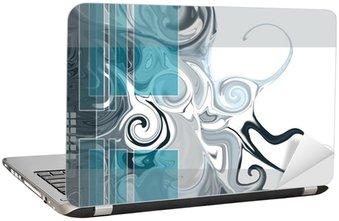 Nálepka na Notebook Abstract background