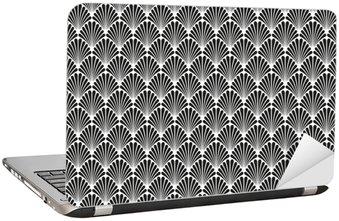 Nálepka na Notebook Abstrakt Seamless Art Deco Vector vzor textura