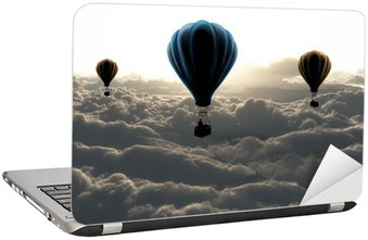 Nálepka na Notebook Balon na obloze