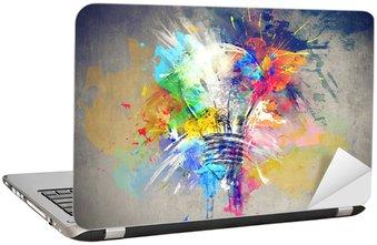 Nálepka na Notebook Barevné světlo