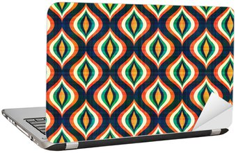 Nálepka na Notebook Bezešvé abstraktní geometrický vzor
