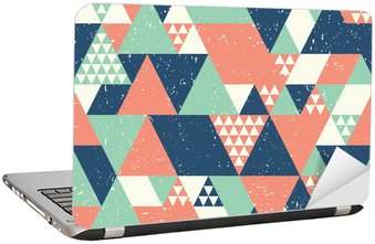 Nálepka na Notebook Bezešvé geometrické pozadí