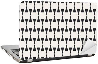 Nálepka na Notebook Bezešvé geometrický vzor.