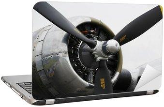 Nálepka na Notebook Bomber letounu,