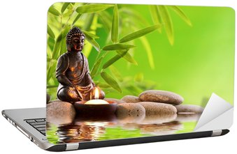 Nálepka na Notebook Buddha Zen