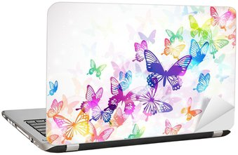Nálepka na Notebook Butterfly