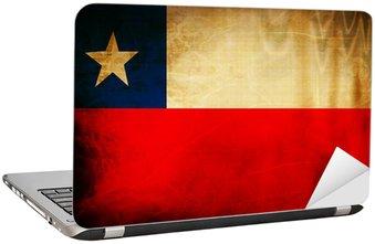 Nálepka na Notebook Chilská vlajka