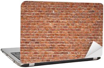 Nálepka na Notebook Cihlová zeď pozadí