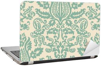 Nálepka na Notebook Damašek tapety vzor