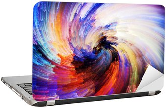 Nálepka na Notebook Digitální Paint Texture