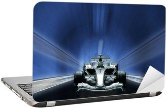 Nálepka na Notebook Formule jedna, rychlost koncepce