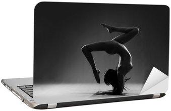 Nálepka na Notebook Gymnastické nude