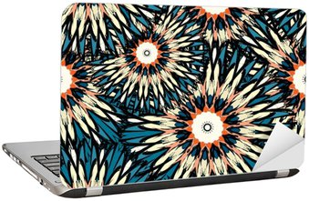 Nálepka na Notebook Krásnou barvu mandala bezešvé vinobraní kmenové bezešvé vzor