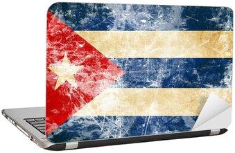 Nálepka na Notebook Kubánská vlajka