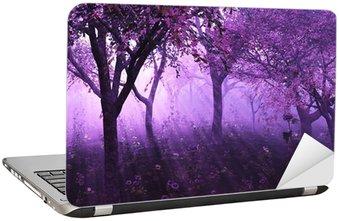 Nálepka na Notebook Lavender Forest - 3d render