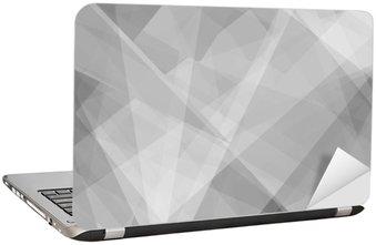 Nálepka na Notebook Lowpoly Trendy pozadí s copyspace. Vektorové ilustrace. Použité krytí vrstvy
