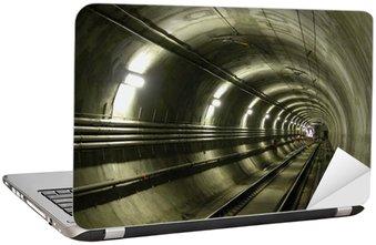 Nálepka na Notebook LRT tunel