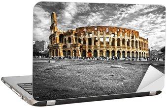 Nálepka na Notebook Majestic Koloseum, Řím, Itálie.