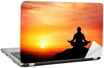 Nálepka na Notebook Meditace
