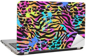 Nálepka na Notebook Neon zvíře mix