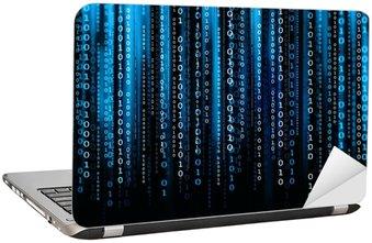 Nálepka na Notebook Počítačový kód