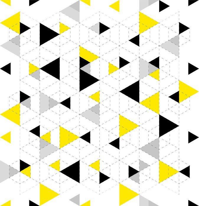 Nálepka na Notebook Pozadí geometrický vzor - Grafika