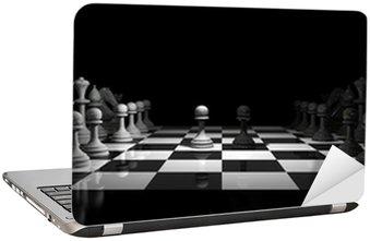 Nálepka na Notebook Šachy