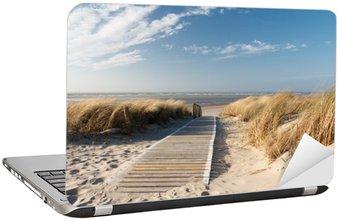 Nálepka na Notebook Severní moře pláž v Langeoog
