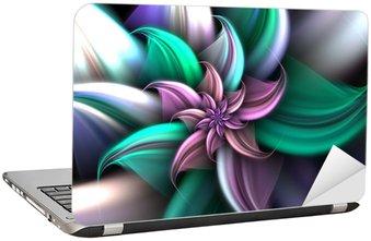 Nálepka na Notebook Světlo a Bright Flower