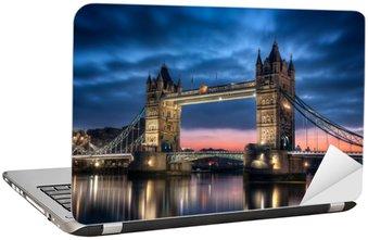 Nálepka na Notebook Tower Bridge London England