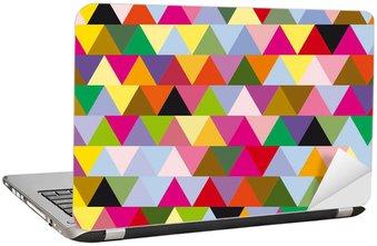 Nálepka na Notebook Trojúhelníky