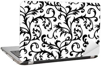 Nálepka na Notebook Vector. Seamless Klasické tapety